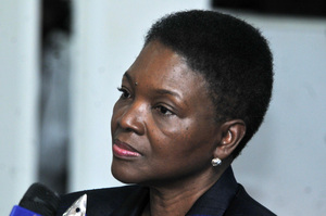 UN under-secretary general for humanitarian affairs Valerie Amos.