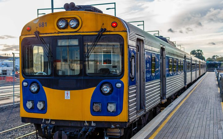 One of the Mozambique-bound ADK units in earlier service at Pukekohe.