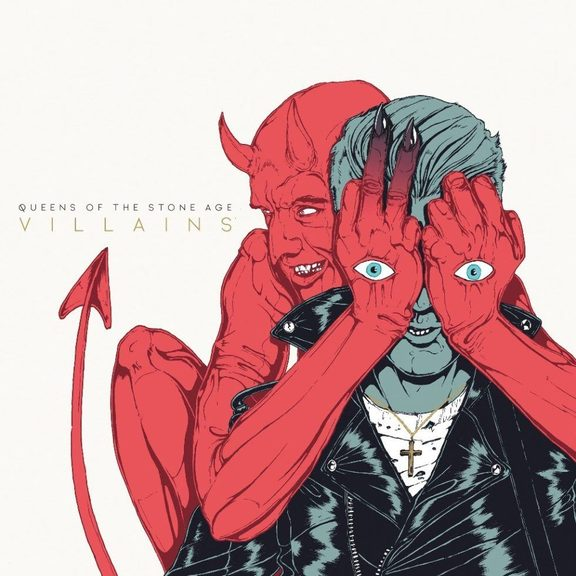 QOTSA Villains cover art