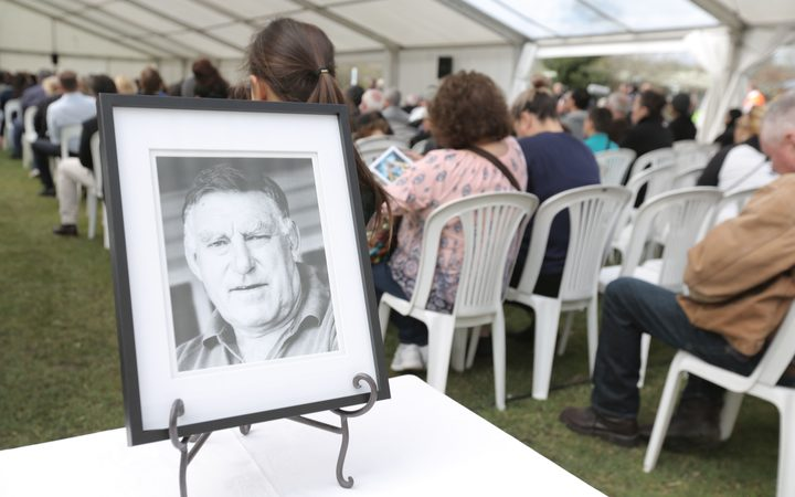 The funeral for Sir Colin Meads in Te Kuiti.