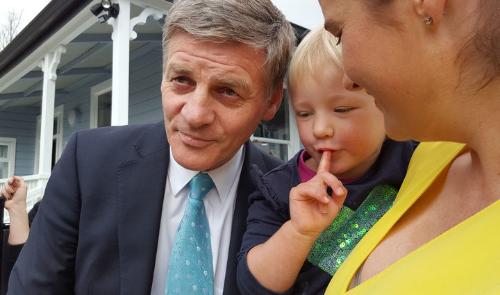Bill English in Nelson.