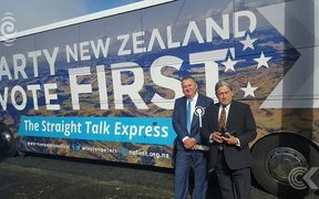 Shane Jones happy with #8 ranking on NZ First list: RNZ Checkpoint