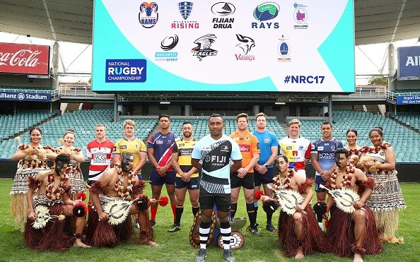 The Fijian Drua take centre stage at the launch of the Australian National Rugby Championship.
