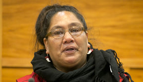 Nicola Rangitoheriri, grandmother of Moko Rangitoheriri, gives evidence at the inquest  into the three year old's death.