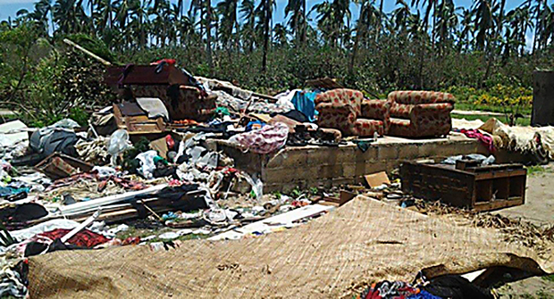 Cyclone Ian destroyed homes and possessions on Lifuka Island in Ha'apai.