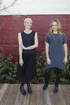 Rebecca Rudolph (left) and Catherine Johnson - Design, Bitches