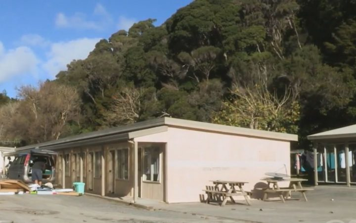 About 40 people are living at the former Whangaroa Harbour Holiday Park.