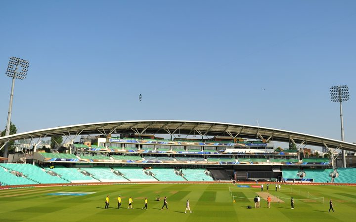 County game suspended after arrow fired into The Oval