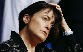 Silver Ferns coach Janine Southby ponders her side's performance against England.