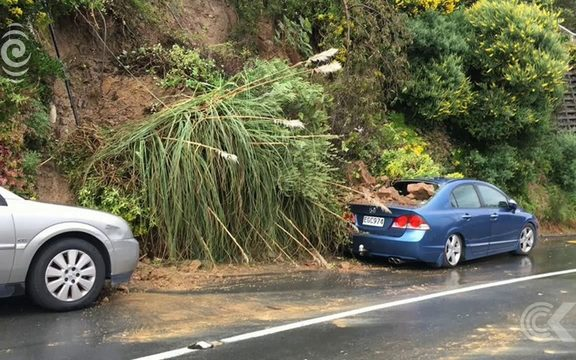 Slips crash into Wellington houses with a bang: RNZ Checkpoint