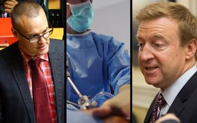 David Clark and Jonathan Coleman disagreed over statistics around increased elective surgeries.