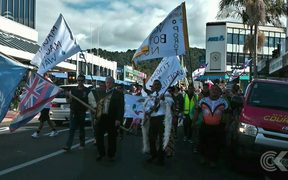 Hundreds protest water bottling proposal in Whangarei: RNZ Checkpoint