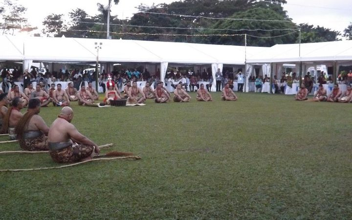 The ava ceremony to welcome Pacific Forum leaders to Samoa.