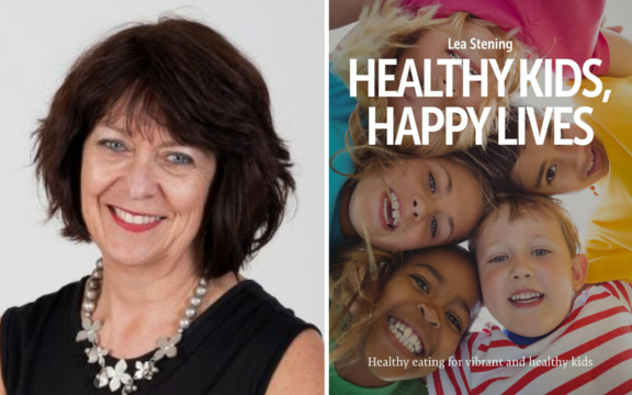 """Healthy Kids, Happy Lives"" by Lea Stening."