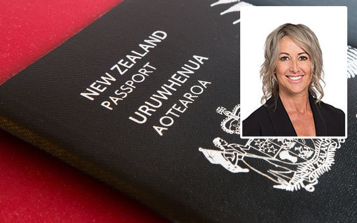 Councillor Jayne Golightly has discovered she is not a New Zealand citizen.