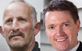 TOP leader Gareth Morgan (left) and former Conservative Party leader Colin Craig.