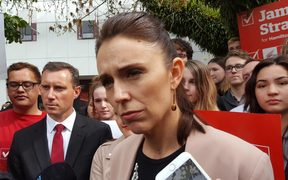 Labour Party leader Jacinda Ardern