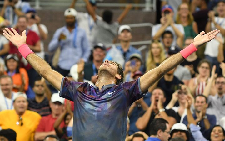 Juan Martin del Potro is through to the semi-finals of the US Open where he will play Rafa Nadal.