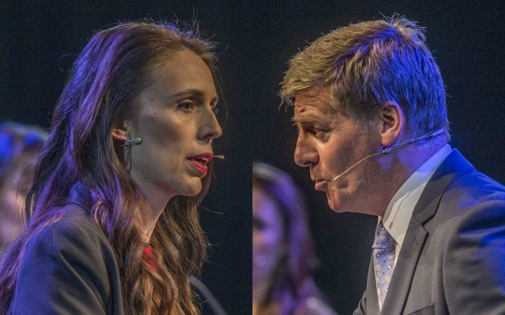 Jacinda Ardern and Bill English face off in the Stuff leaders' debate.