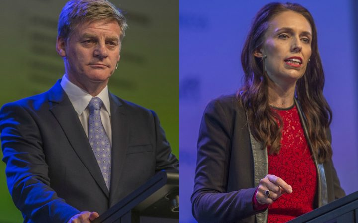 Bill English and Jacinda Ardern face off in the Stuff leaders' debate.