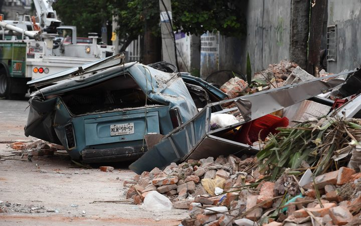 The 8.1-magnitude quake caused widespread damage, including in the eastern part of Mexico City