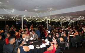 The theme was 'a night out with the stars'  at James Cook High School's ball.