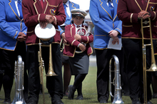 Members of the Ratana Brass Band.