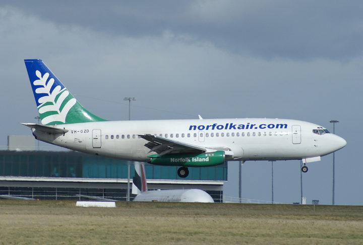 Norfolk airline ends Auckland flight after three months