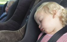 New rules brought in last year mean all children up to age seven must be in approved vehicle restraints.