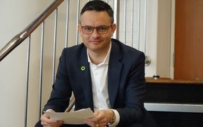 Greens co-leader James Shaw