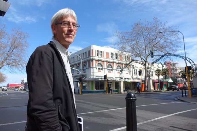Earthquake Prone Buildings Taskforce chairman Richard Thompson.
