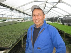 Second generation grower Gordon Sue said it the wettest winter he's even seen.