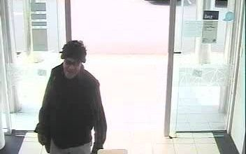 Police want to identify this man coming into the bank.