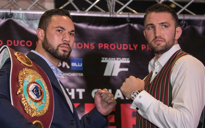 Joseph Parker and Hughie Fury