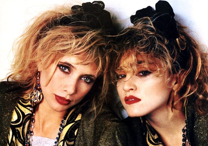 Roseanna Arquette and Madonna in Desperately Seeking Susan
