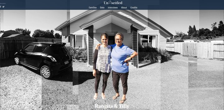 Unsettled investigates five families to explore housing problems with interactive video and data.