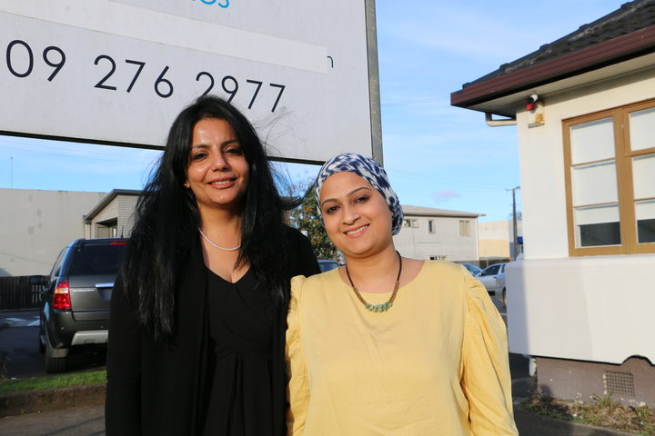 Sucharita Varma and Zoya Kara from Sahaayta Counselling Services in Auckland.