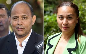 Willie Jackson and Marama Davidson.