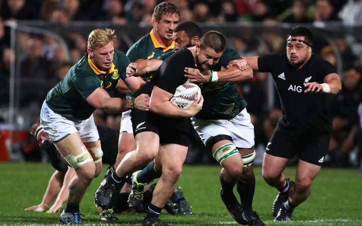 All Black hooker Dane Coles on the charge