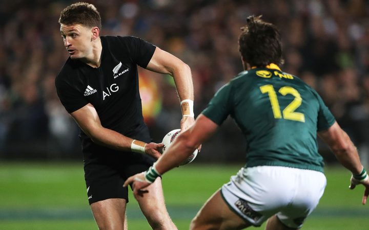 All Black first five Beauden Barrett