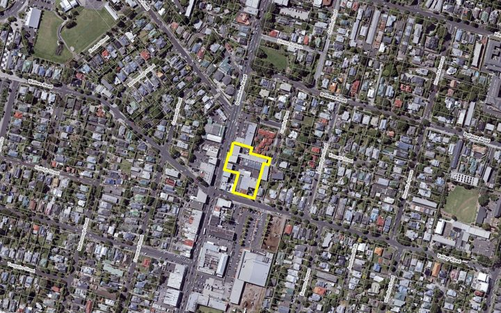 The site is in the heart of Mt Eden village. Photo: Panuku Development Auckland