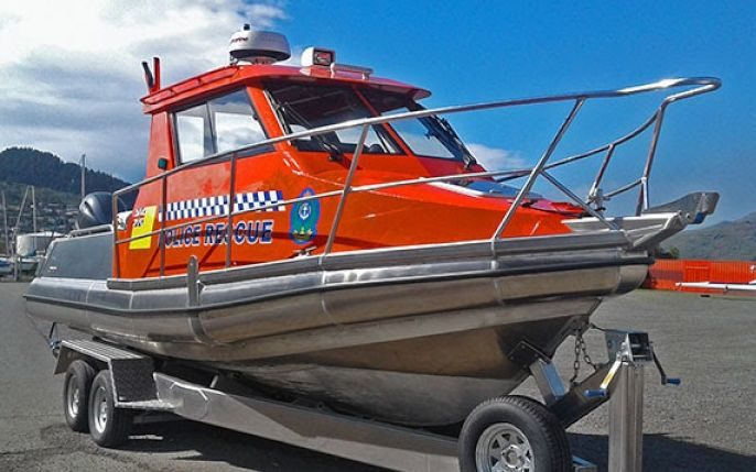 Niue's new search and rescue boat