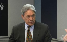 Checkpoint leader interview   Winston Peters