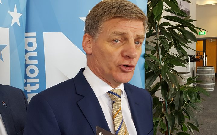 Bill English on the campaign trail in Marlborough.