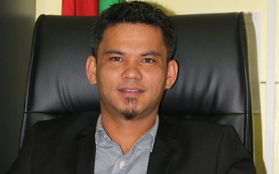 Agriculture Minister, Matai Seremaiah