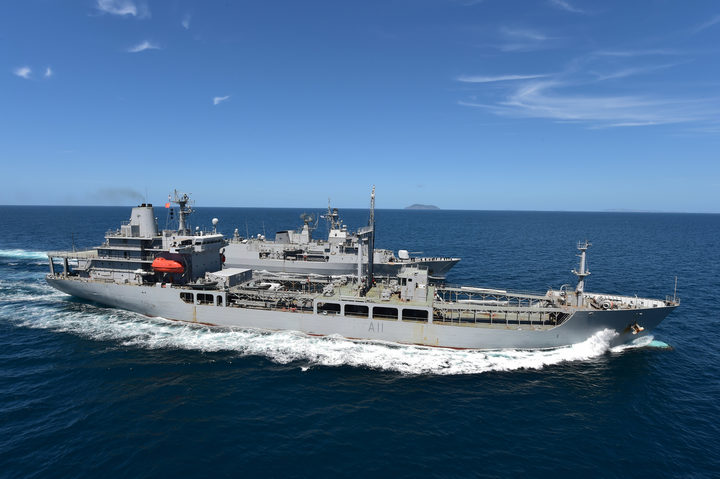 Royal New Zealand Navy tanker HMNZS Endeavour will sail for Marsden Point on Thursday morning to upload up to 4.8 million litres of diesel fuel for delivery to ports around the country.