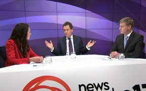 Jacinda Ardern and Bill English faced off in the second TVNZ debate hosted by Mike Hosking.
