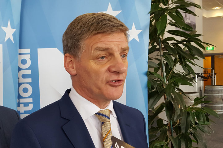 National Party leader Bill English hides it well but he's surely feeling the pinch.