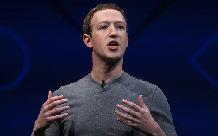 Facebook chief executive Mark Zuckerberg in April.