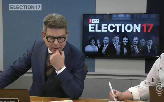 RNZ's Ian Telfer reports from a Dunedin student election party